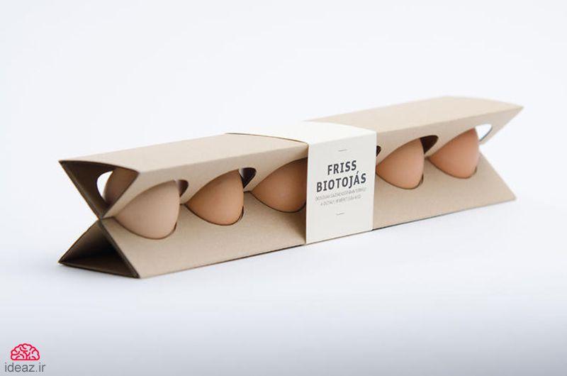 بستهبندی جدید تخممرغ