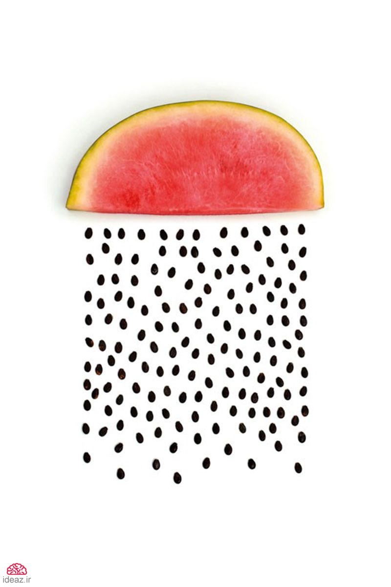 طراحی با میوه