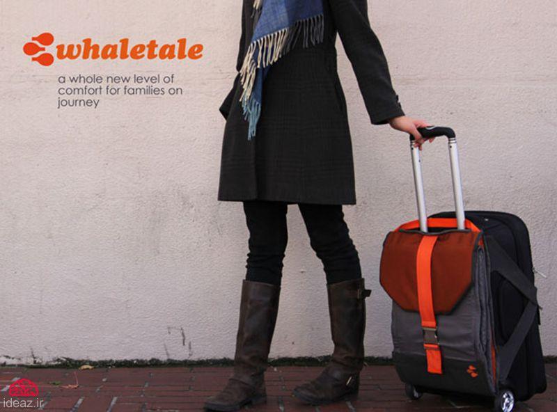 چمدانی برای پروازهای تأخیری