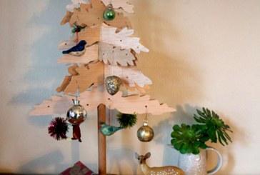 درخت کریسمس بسازید!