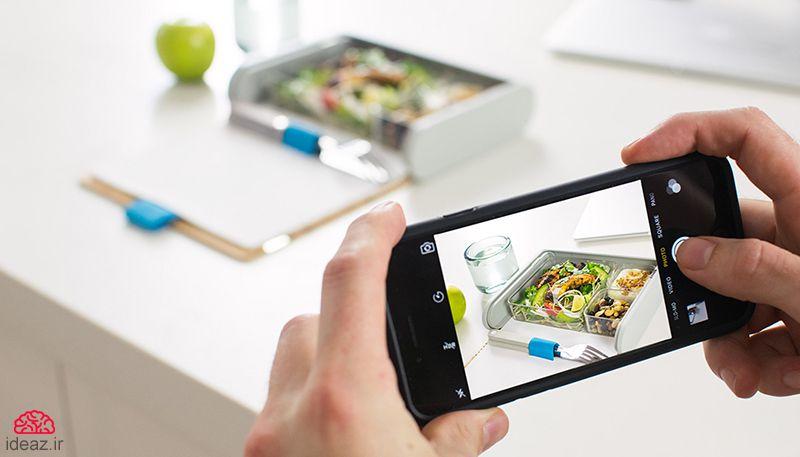 آیدیاز - ظرف غذای هوشمند