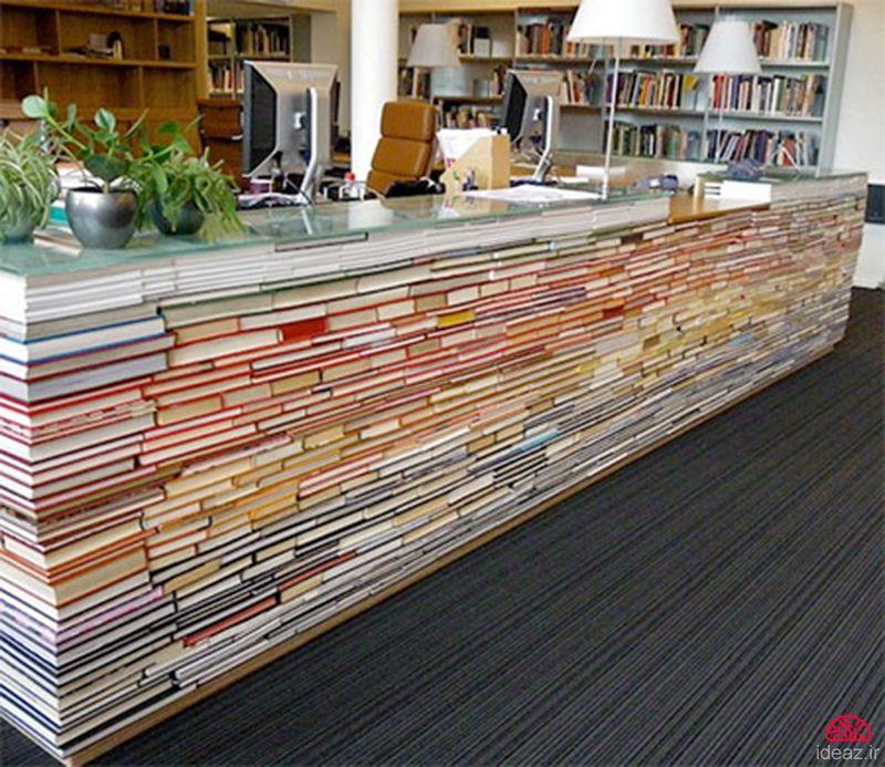 آیدیاز - میز کتابی