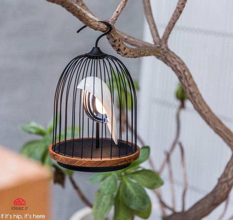 آیدیاز - قفس موسیقی و نور