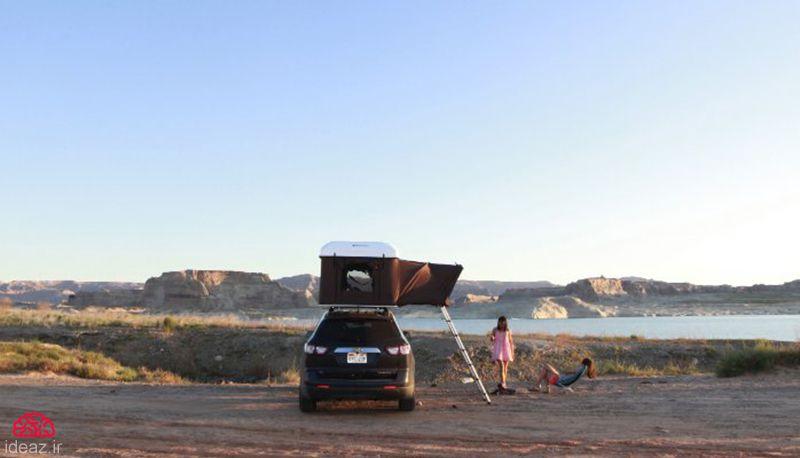 آیدیاز - بالاخونه چادر مسافرتی آسان نصب