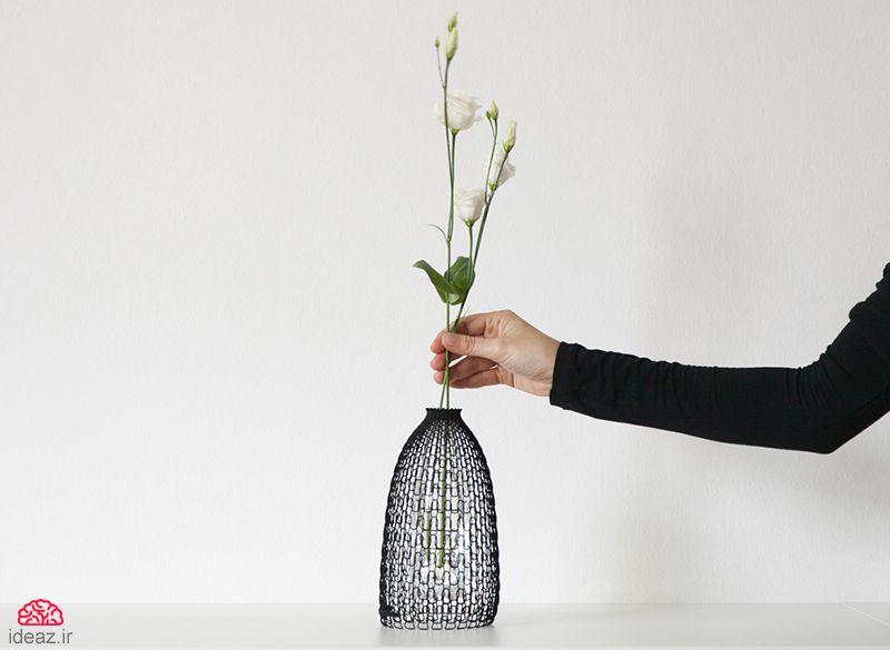 آیدیاز - بطری سه بعدی پوش