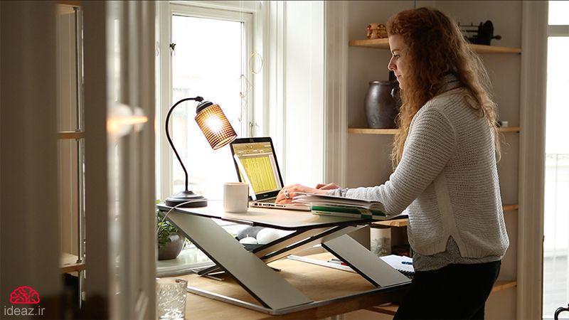 میز کامپیوتر سرپایی