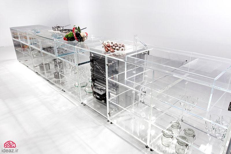 آیدیاز - آشپزخانه شفاف