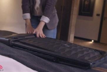 چمدان تاشوی هوشمند