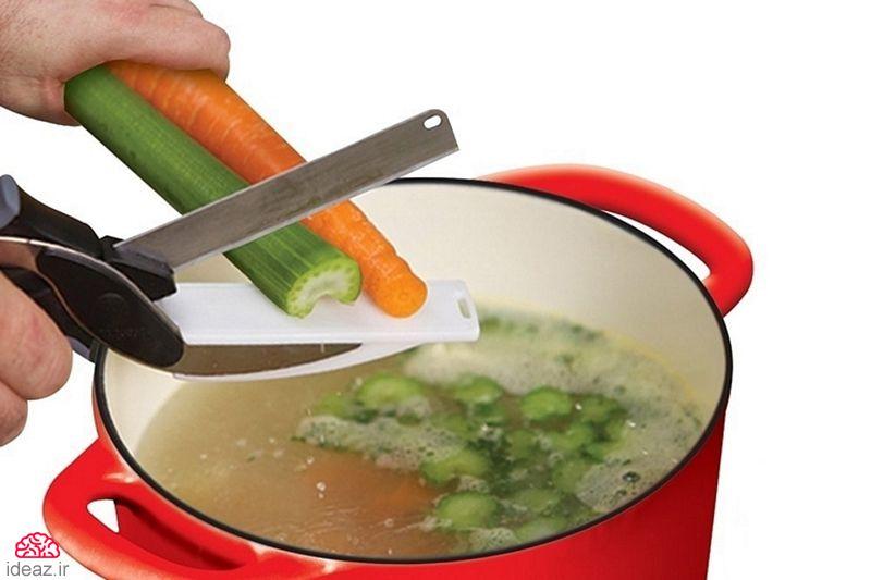 آیدیاز - قیچی آشپزی