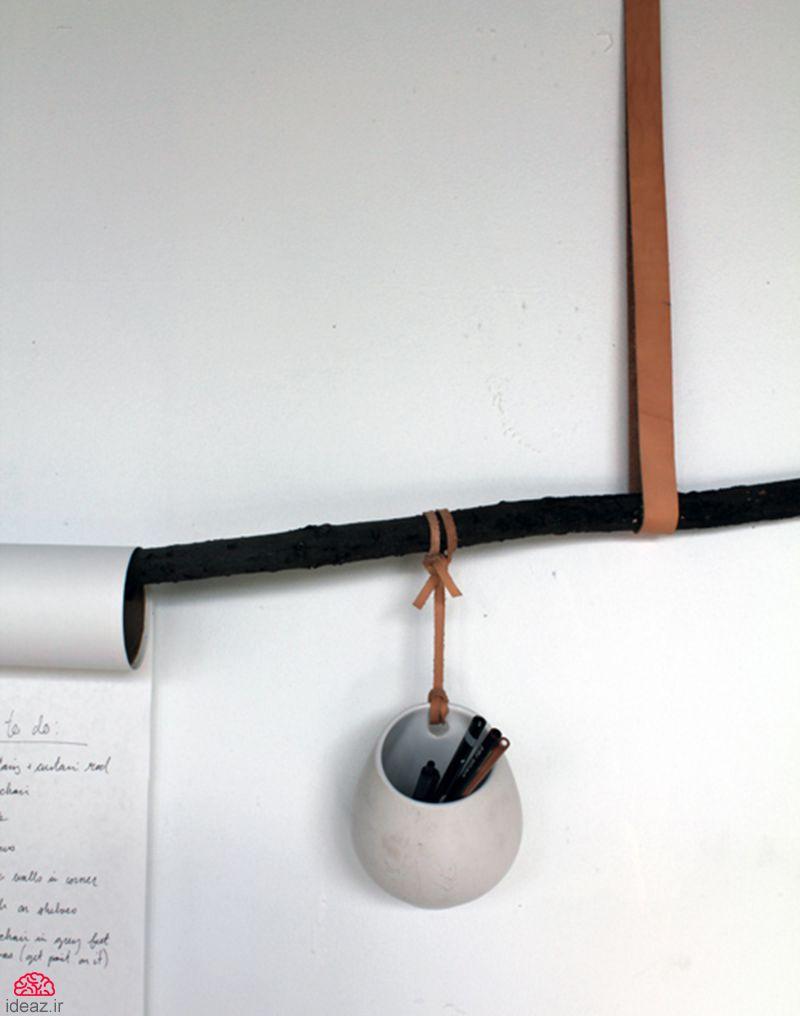آیدیاز - کاردستی دفتر یادداشت دیواری