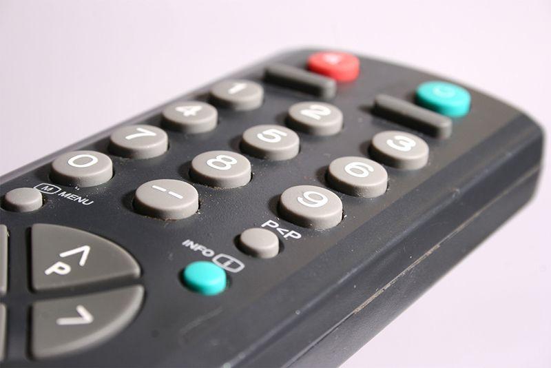 کنترل تلویزیون کجاست؟