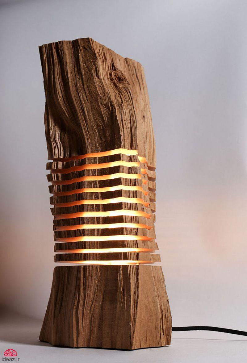 آیدیاز - تنه درخت نورانی