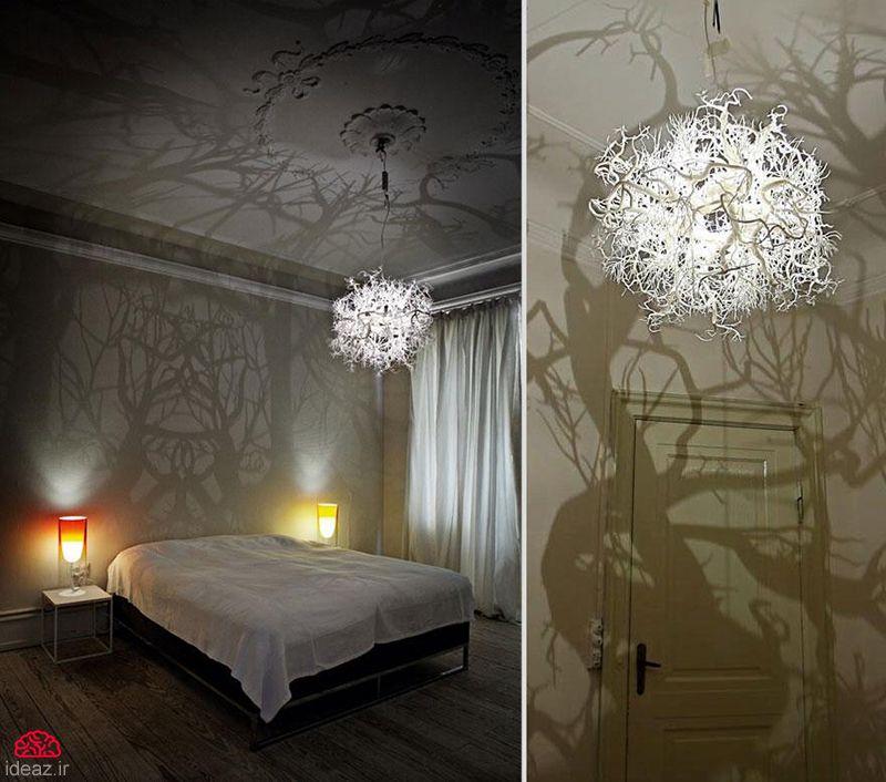 آیدیاز - لامپ و لوستر خلاقانه