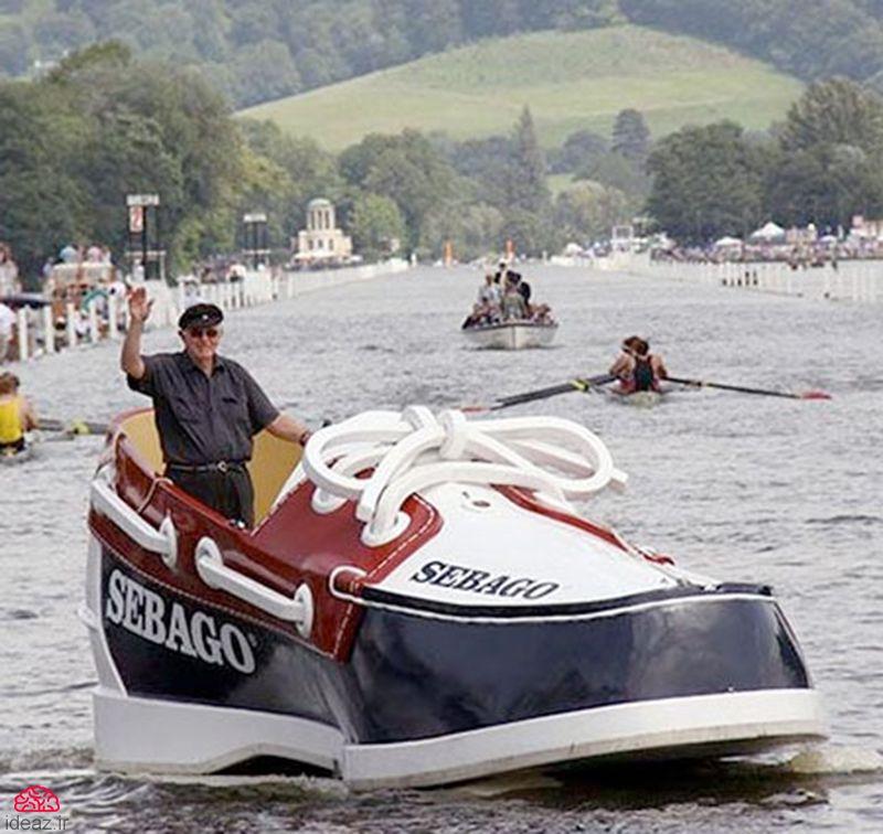 قایق کفش