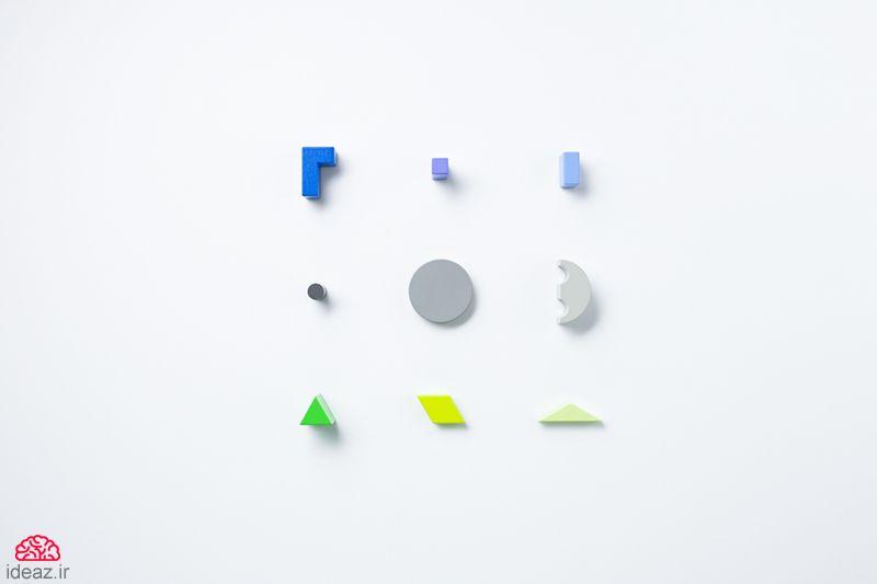 آیدیاز - جورچین سهبعدی