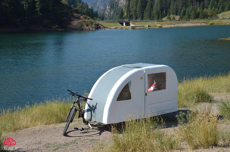 کمپ تاشو دوچرخهای