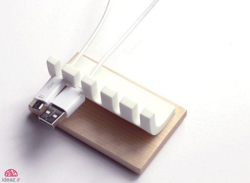 آیدیاز - 10 محصول خلاقانه برای ساماندهی به کابلها و سیمهاآیدیاز - 10 محصول خلاقانه برای ساماندهی به کابلها و سیمها