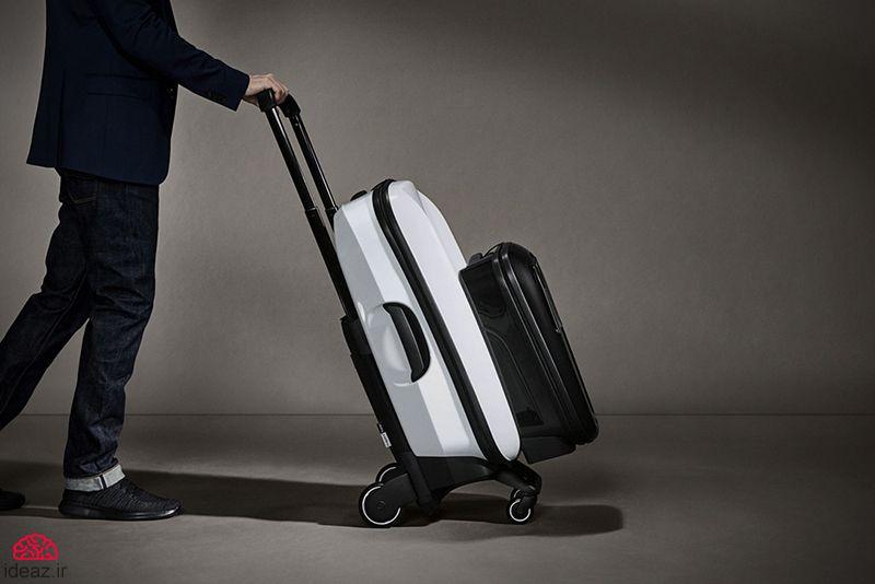 آیدیاز - چمدان دوقلو