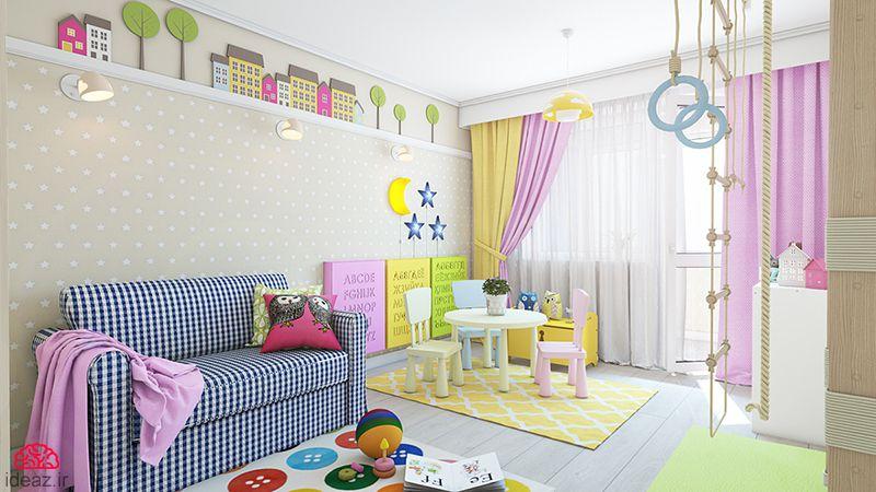 آیدیاز - دکورهای خلاقانه اتاق کودک
