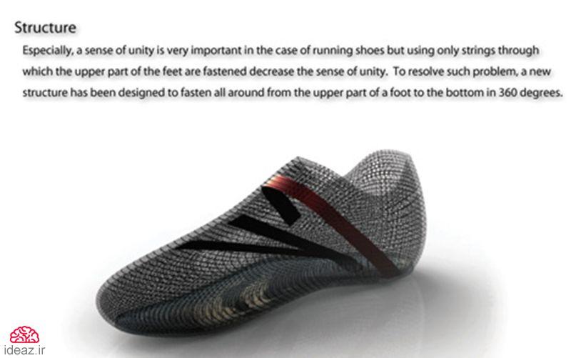 آیدیاز - خداحافظی با بند کفش