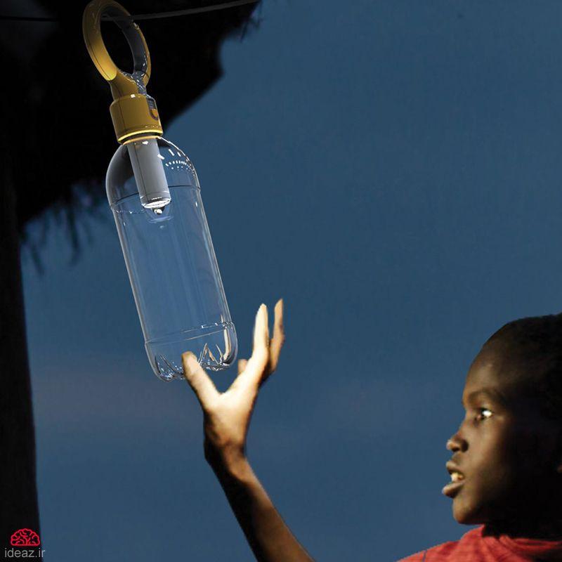 آیدیاز - بطری نورانی