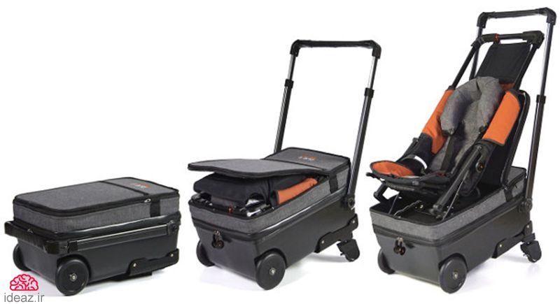 آیدیاز - چمدان کالسکهای