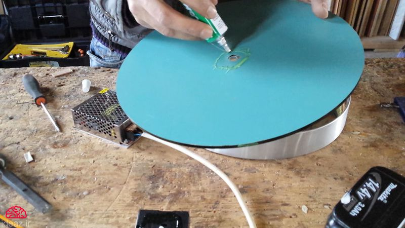 آیدیاز - ساعت دیواری خلاقانه بسازید