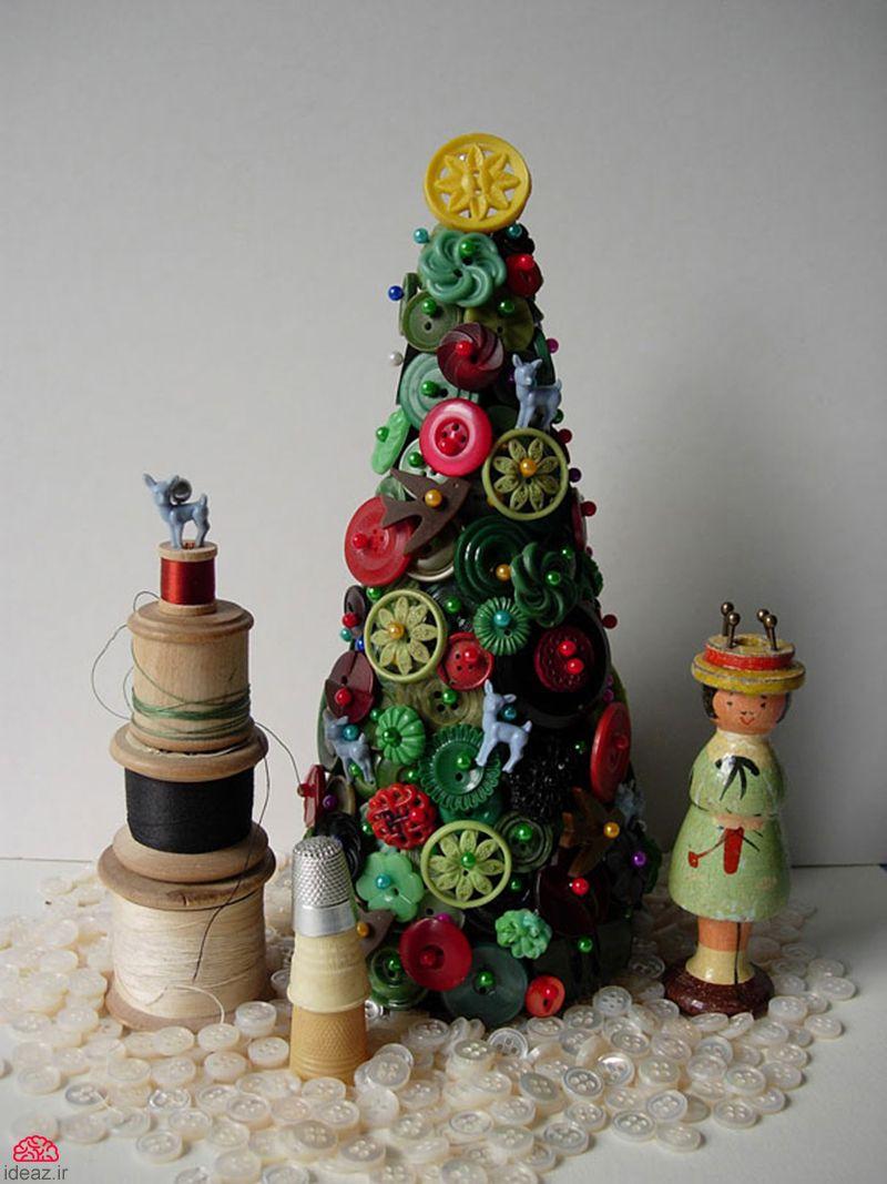 خلاقیت در طراحی درخت کریسمس (بخش اول)