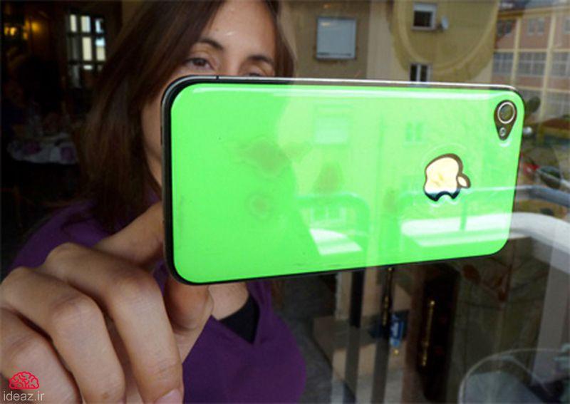 آیدیاز - جلدهای خلاقانه برای iphone
