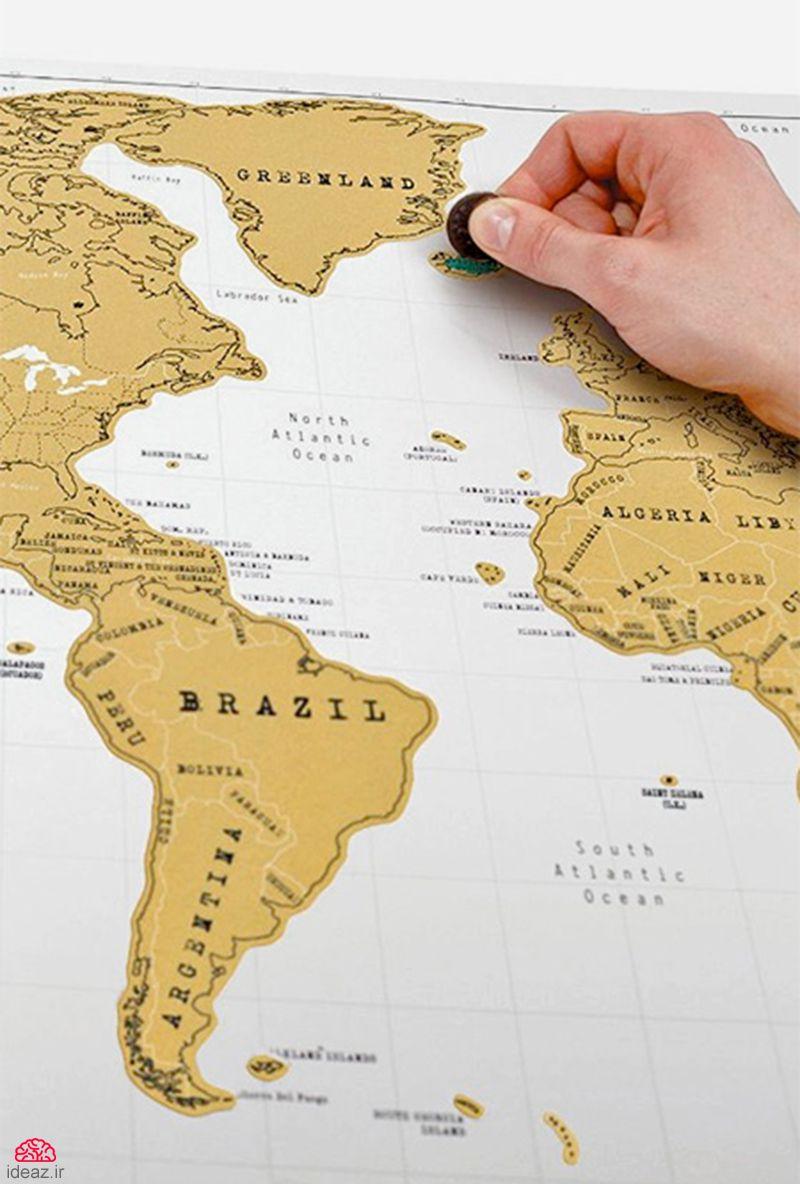 آیدیاز - نقشهای برای جهانگردان