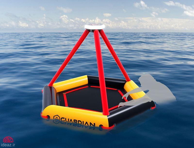 آیدیاز - قایق نجات خورشیدی