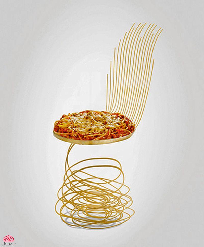 آیدیاز - صندلیهای خوردنی