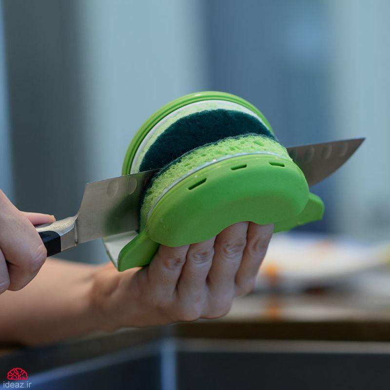 آیدیاز - چاقو شور امن