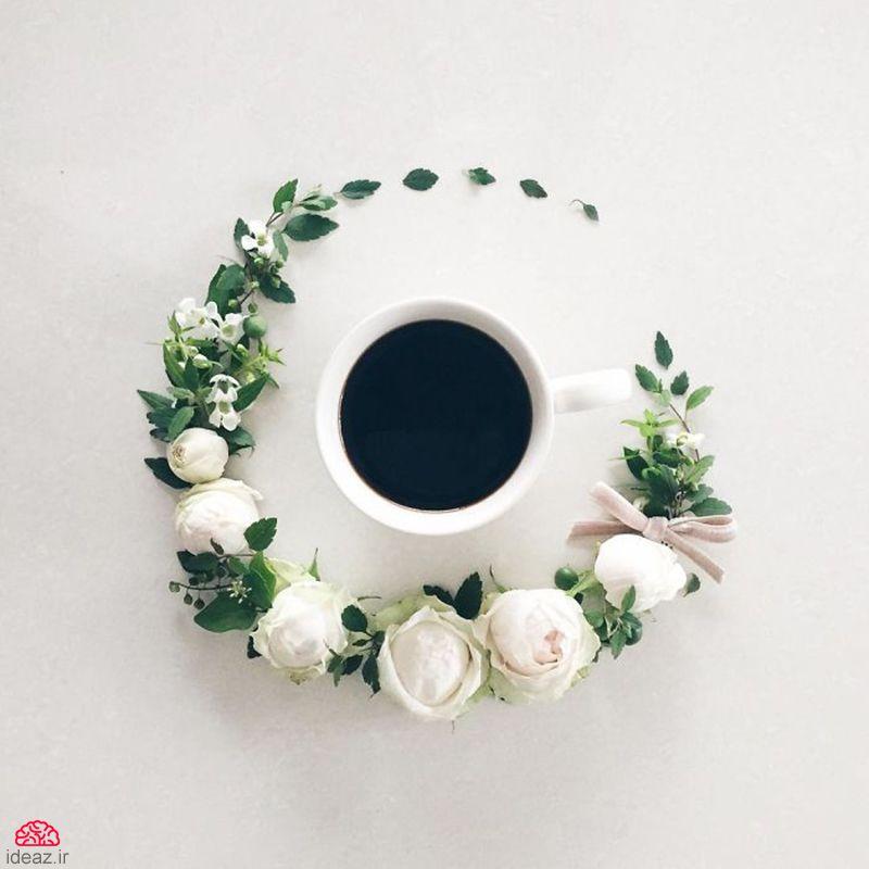 آیدیاز - قهوهخوری در باغ گل