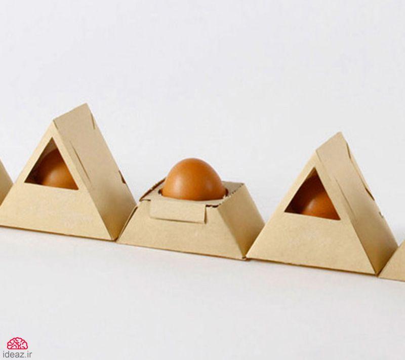 آیدیاز - تخممرغ مقوا پیچ