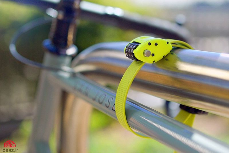 آیدیاز - تسمه قفل دوچرخه