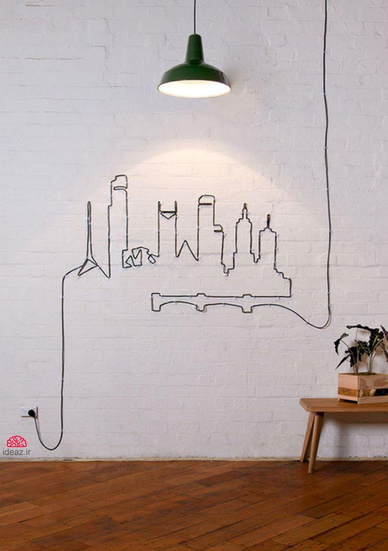 آیدیاز - 16 ایده خلاقانه برای مخفی کردن سیم و کابل