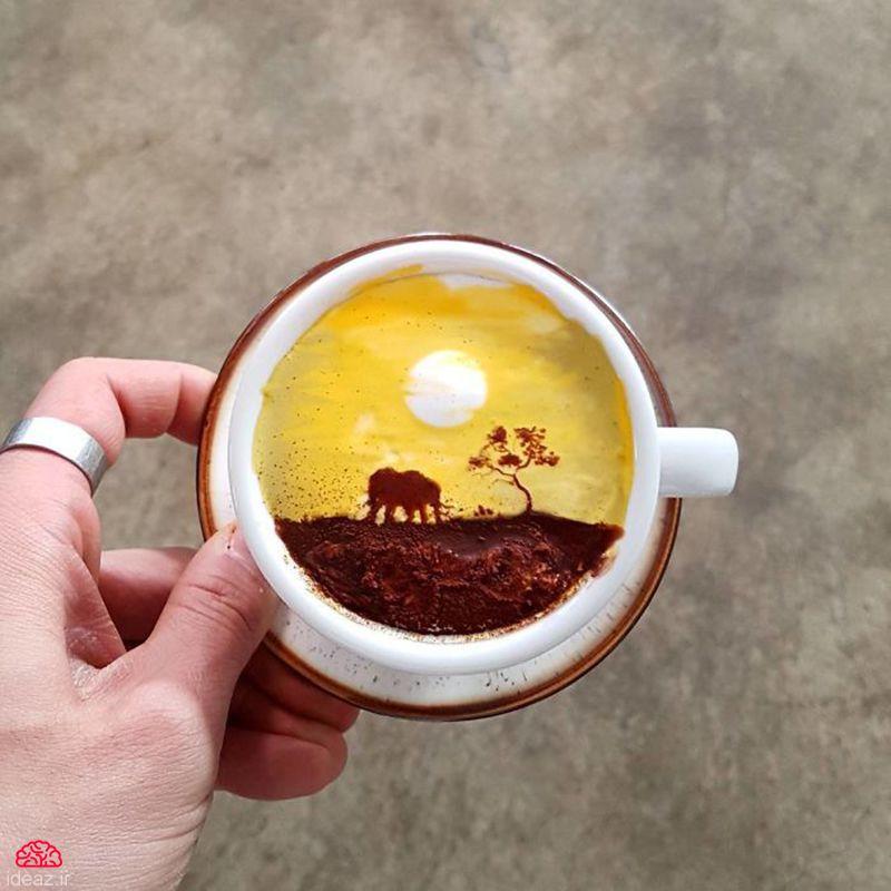 آیدیاز - کافه نقاشی