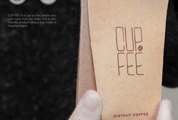 لیوان قهوه فوری