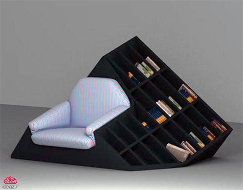 آیدیاز - مبل کتابدار