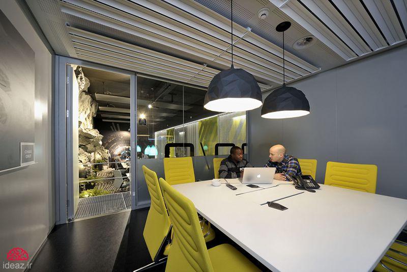 آیدیاز - خلاقانه ترین دفتر کار دنیا