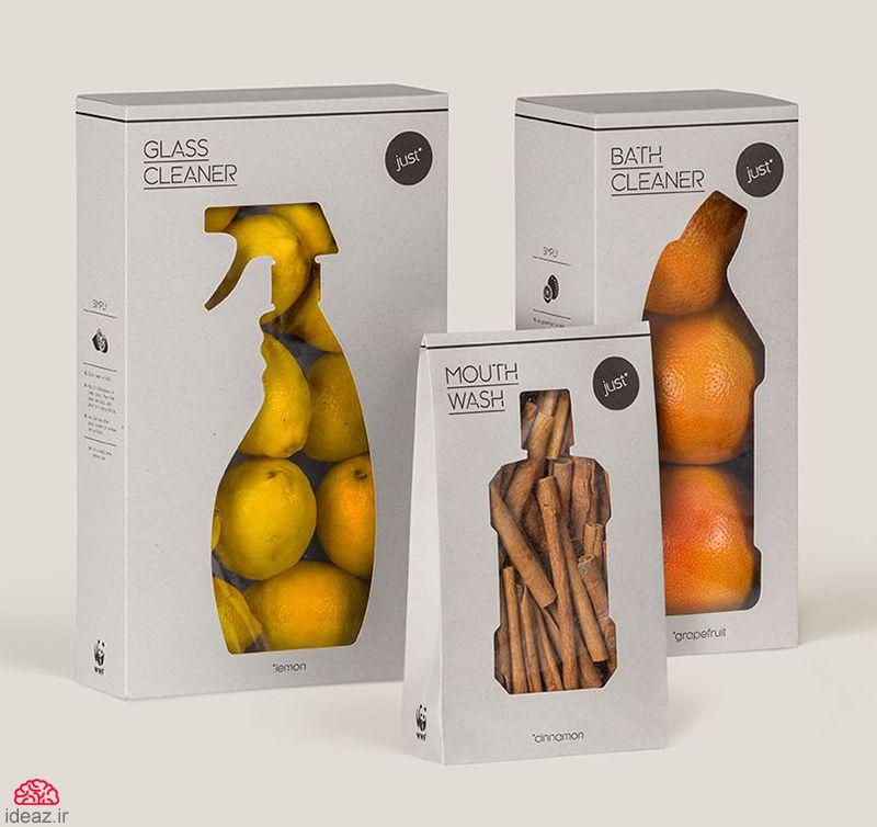 آیدیاز - تبلیغ خلاقانه شویندههای طبیعی