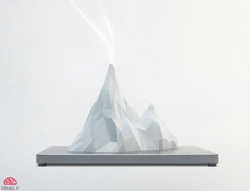 آیدیاز - آتشفشان خوشبو