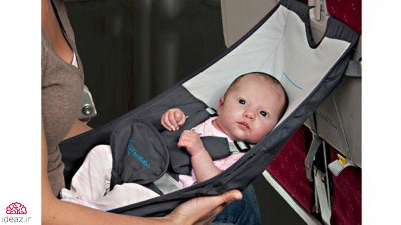 صندلی هواپیمای نوزاد