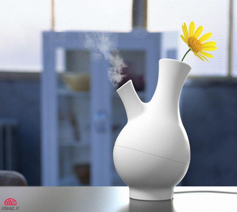 گلدان بخارساز