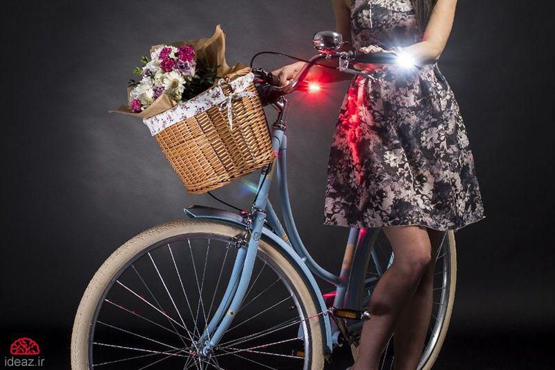 دستگیره نورانی دوچرخه