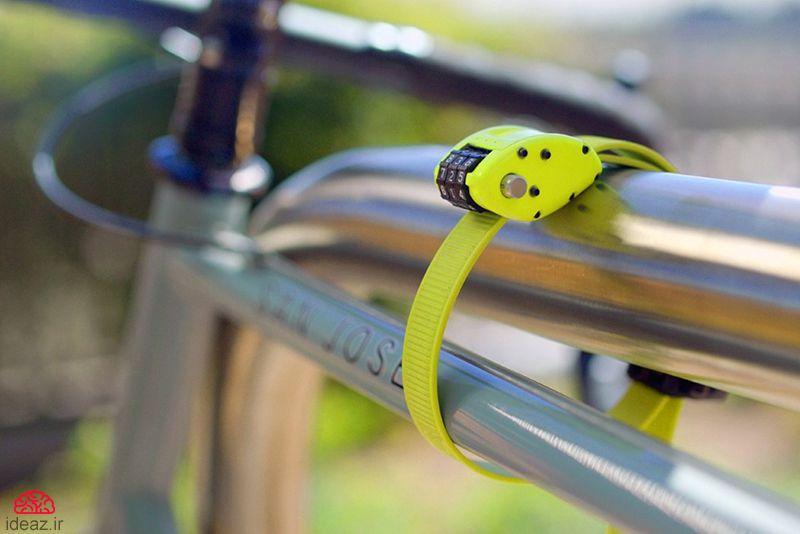 تسمه قفل دوچرخه